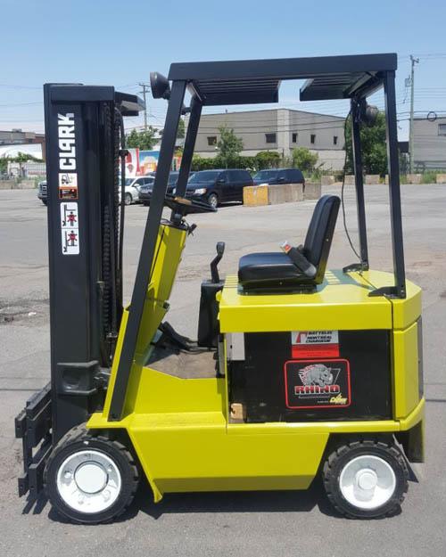 Clark electric forklift ECS20 4000 lbs